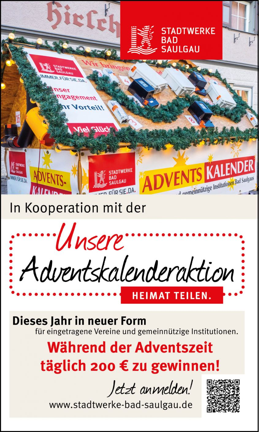 Adventskalenderaktion 2020